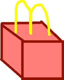 McDonalds Cube - drawing
