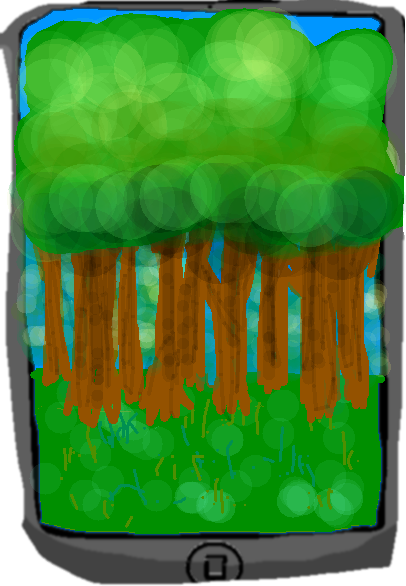 Tablet1 - Tree Background