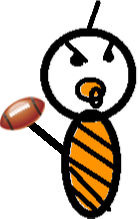 Fred - baby Fred football 1