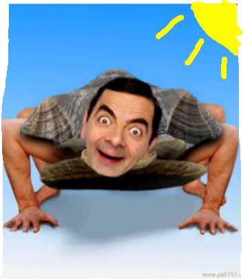 background scene - Mr bean