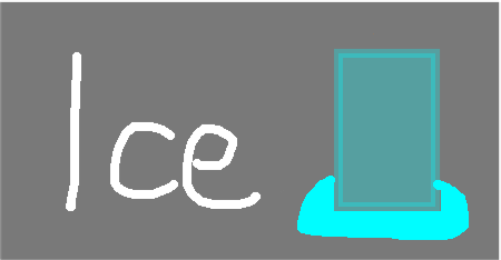 ice - drawing