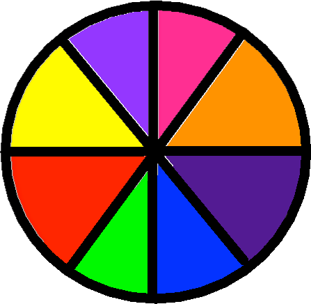 Players wheel - drawing