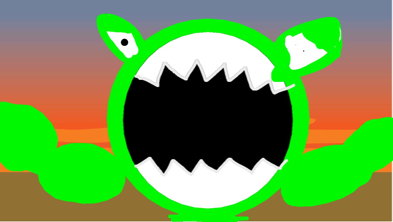 background scene - Monster Mouth