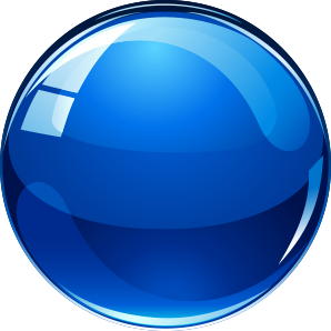 Blue Ball - spinner