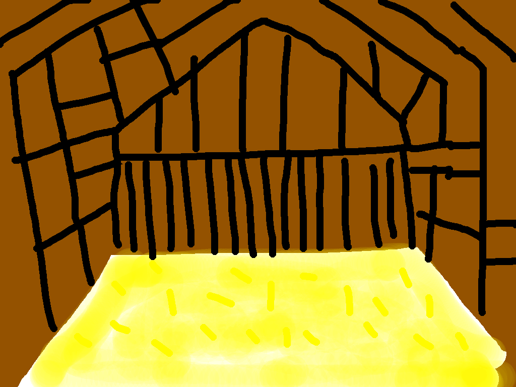 background scene - barn