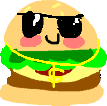 burger - drawing