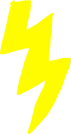 lightning - drawing