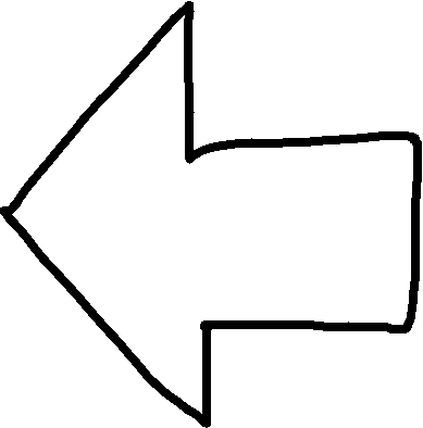 Left Arrow - drawing