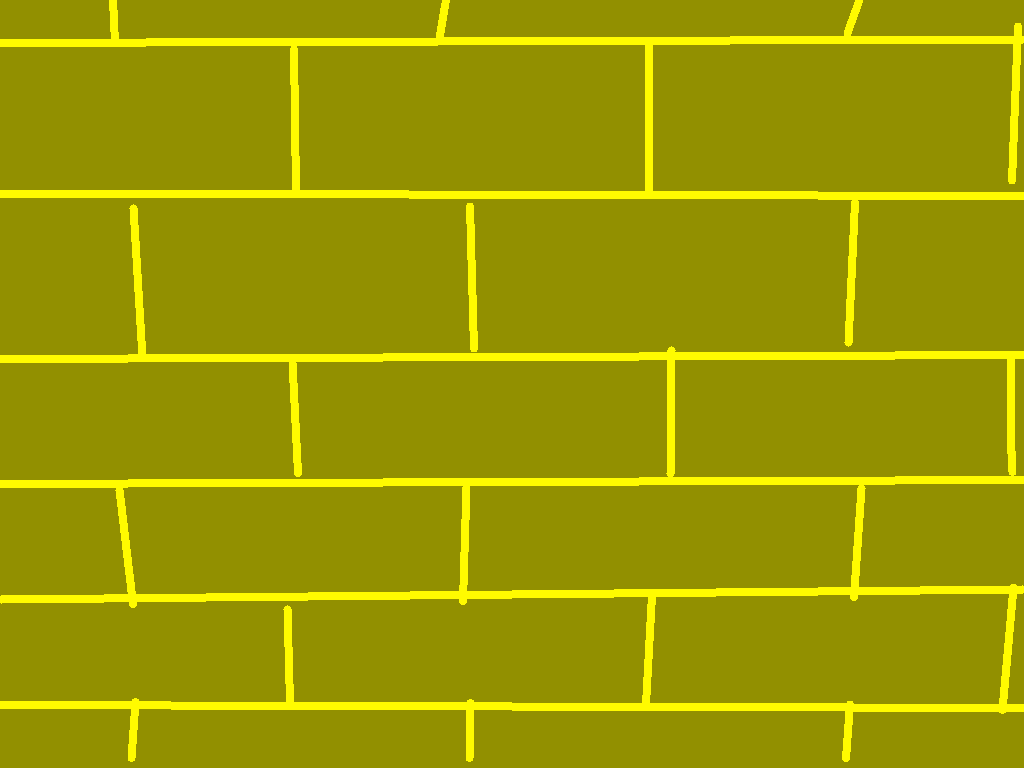 background scene - yellow brick wall