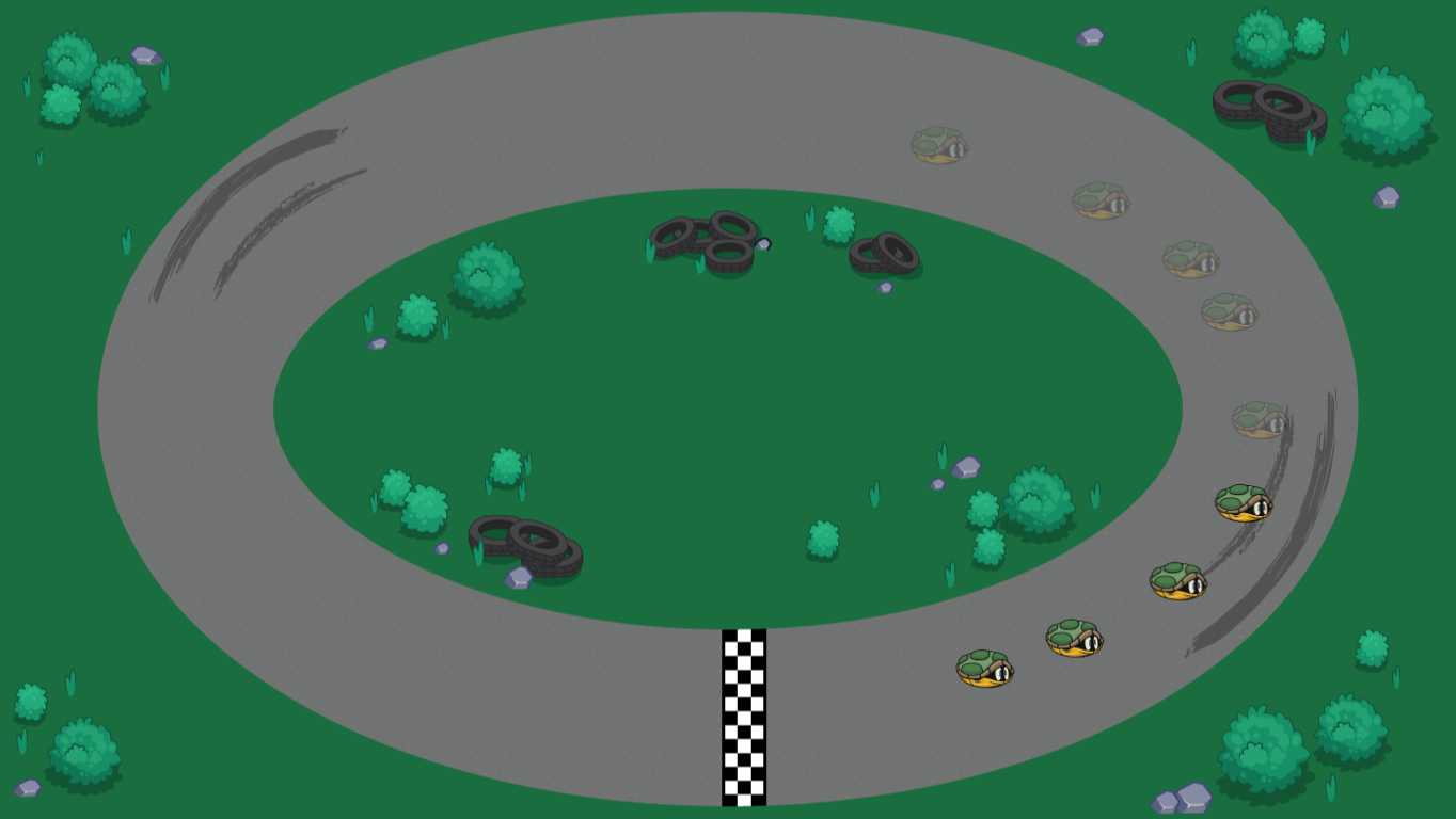 background scene - race track 2
