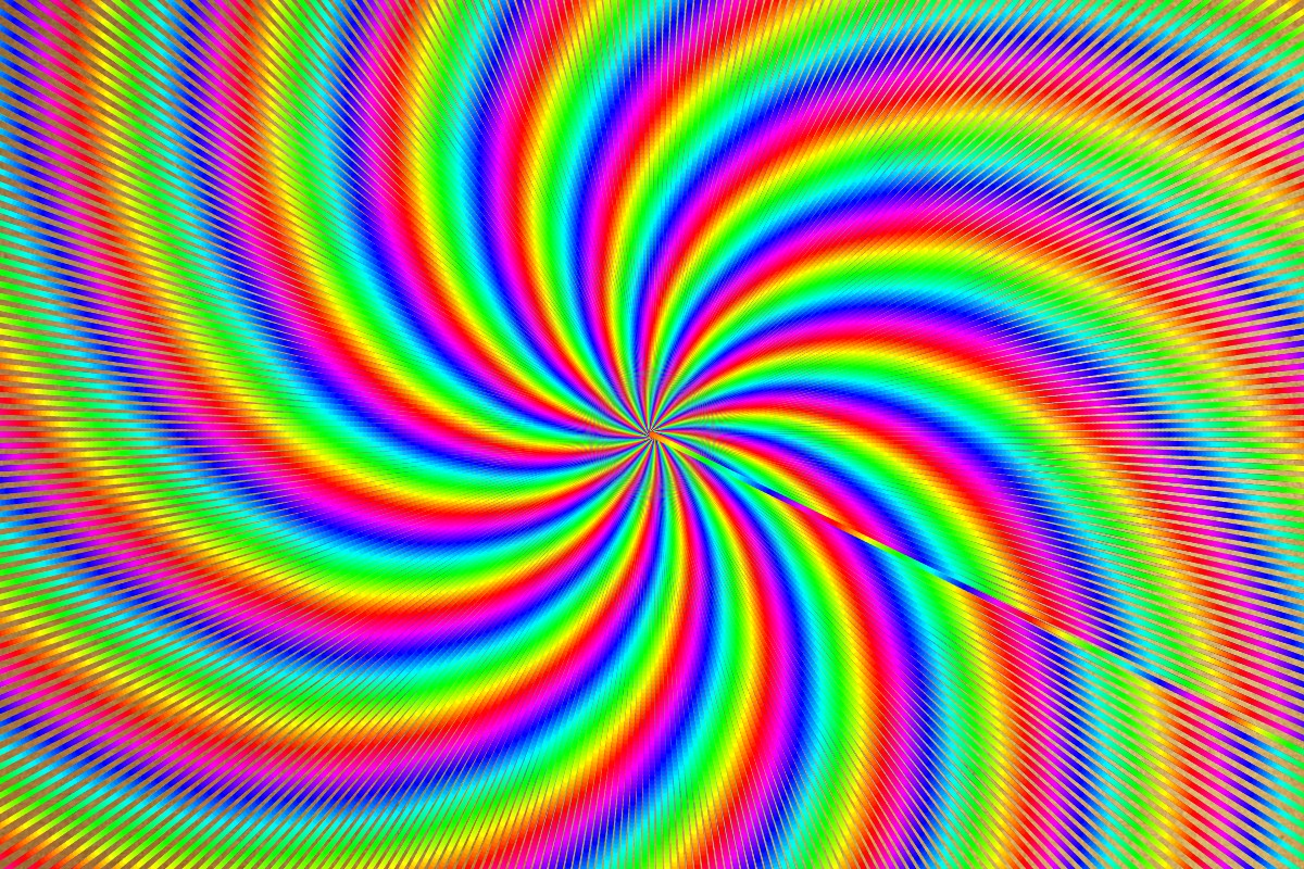Rainbow Spiral