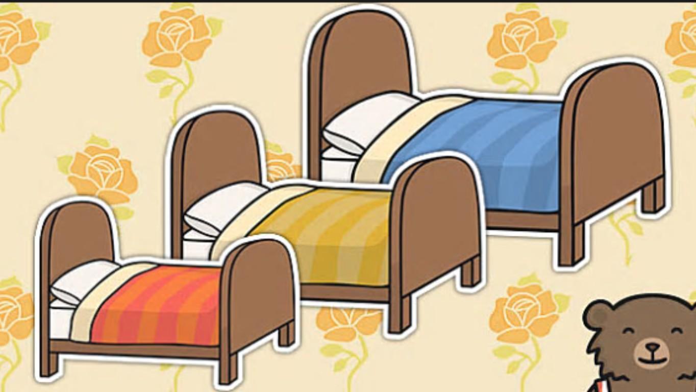 Кровать из сказок картинки