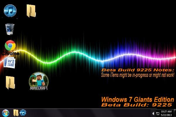 Windows 7 Giants Edition BETA | Tynker