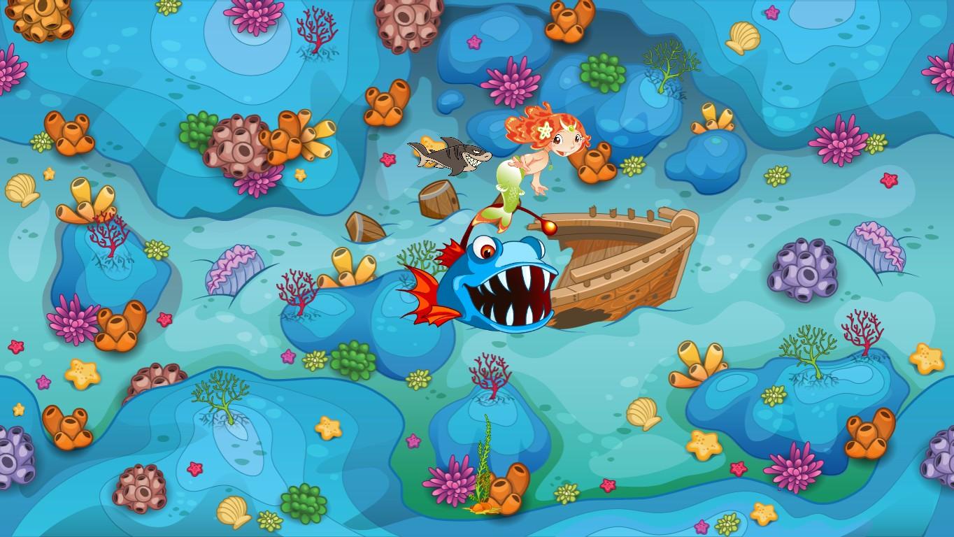 Ocean Floor Tynker