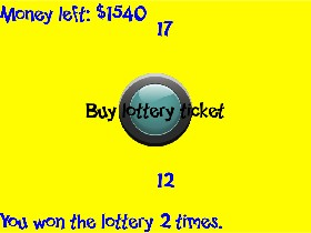 Lottery Simulator