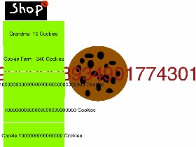 Cookie Clicker Cheat Tynker