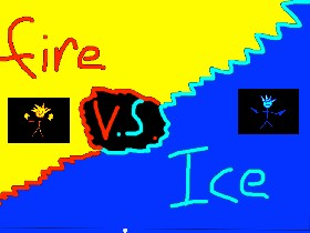 1-2 Player Ice Vs Fire