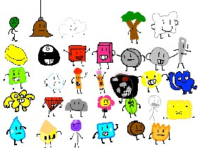 BFDI, Characters! 1 | Tynker