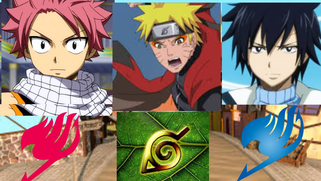 fairy tail and naruto | Tynker