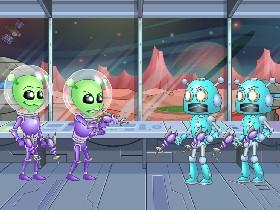 Aliens Vs Robots Tynker