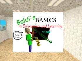 Baldi basics menu and baldi   Tynker