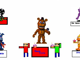 fnaf world simulator | Tynker