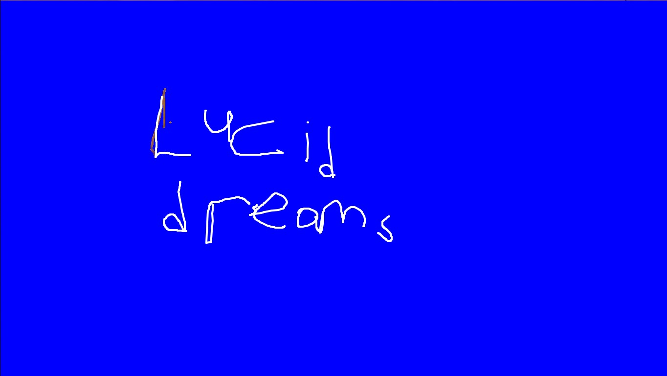 lucid dream by juice wrld | Tynker