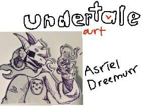 Undertale Art: Asriel Dreemurr   Tynker