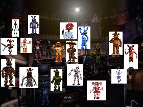 fnaf 6 ultimate custom night 1 | Tynker