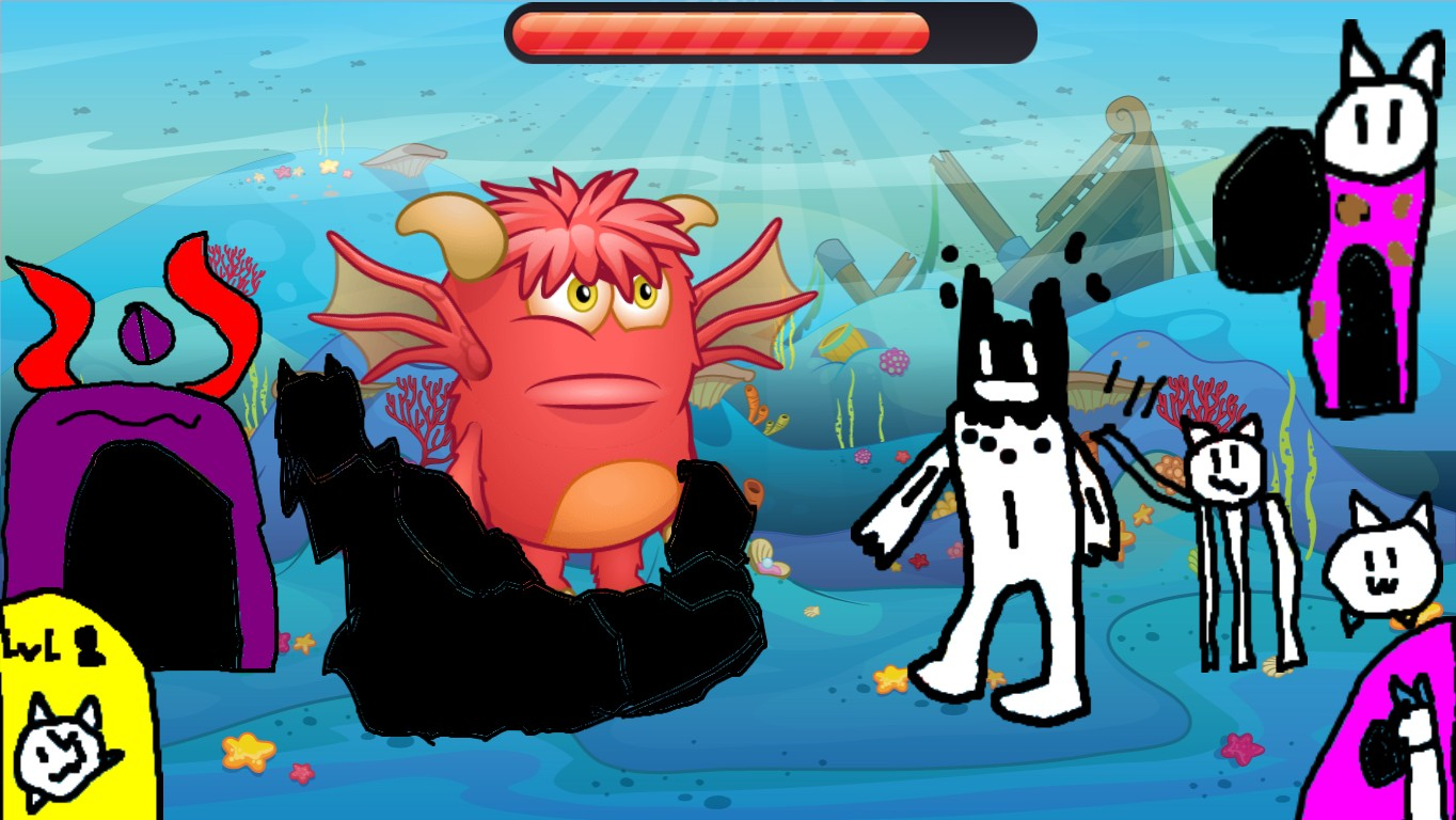 Battle Cats Battle Which The Red Demon Cant Die. (Tap On The Head ...