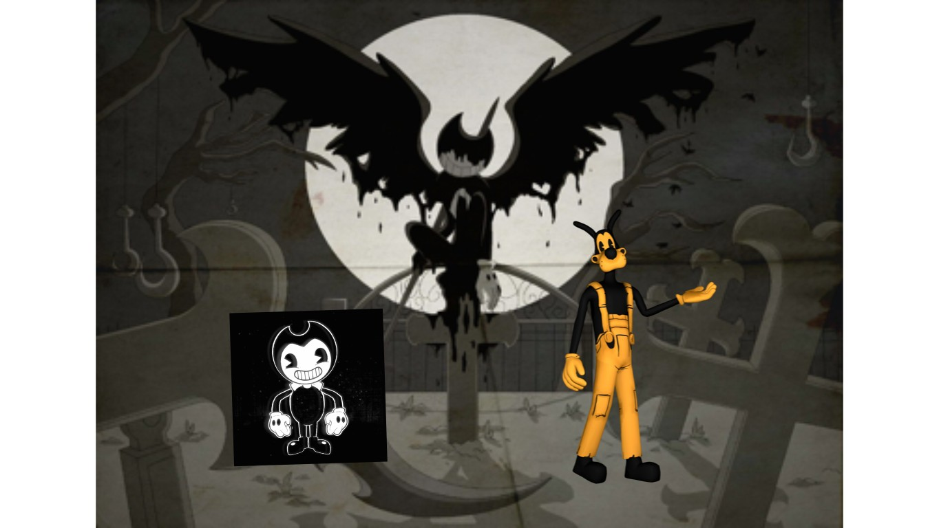 bendy and the ink machine art | Tynker