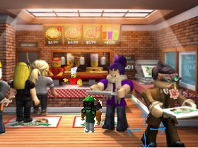 Work At At Pizza Place Roblox Tynker