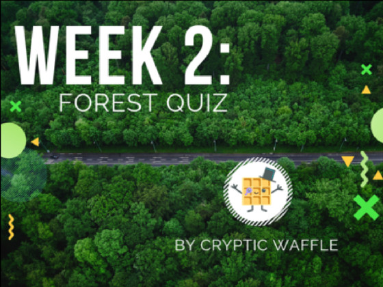 Week 2: Forest Quiz