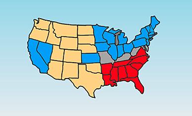 Marvelous Civil War Map Quiz Example